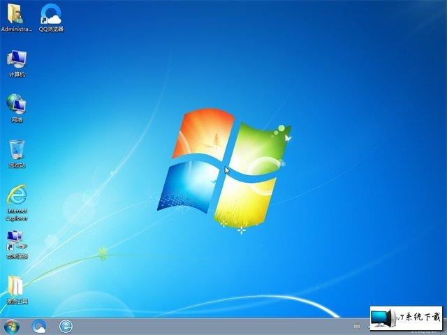 电脑公司 Ghost Win7 32位纯净版 v2019.10