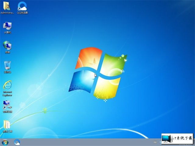 深度技术 Ghost Win7 64位纯净版 v2019.11