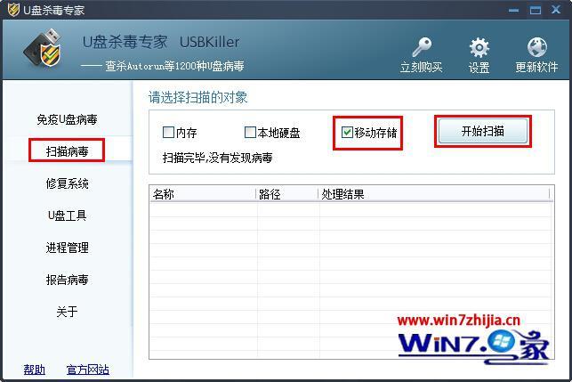 win7系统u盘文件夹变成快捷方式的解决方法